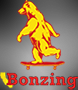 Sponsored by Bonzing Skateboards